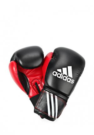 Перчатки боксерские adidas Combat. Цвет: красный, черный