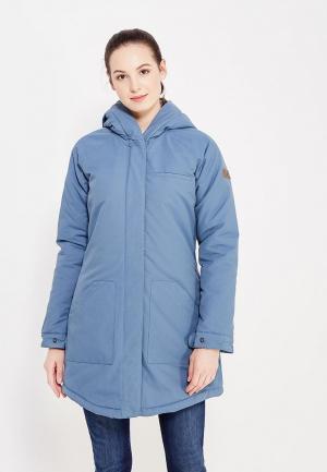 Куртка утепленная Roxy. Цвет: голубой