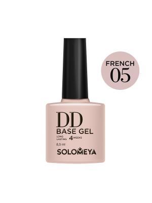 Суперэластичная DD-база (Daily Defense) цвет French 05 на основе нано-каучукового материала SOLOMEYA. Цвет: бежевый