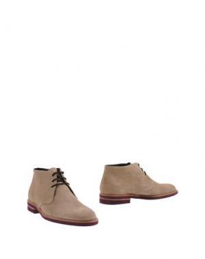 Полусапоги и высокие ботинки BRUNO MAGLI. Цвет: бежевый
