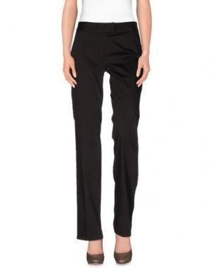 Повседневные брюки CARAMELO. Цвет: темно-коричневый