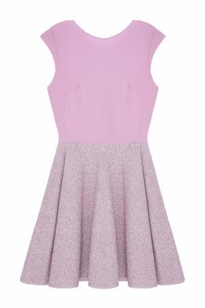 Однотонное платье NATALIA GART. Цвет: розовый