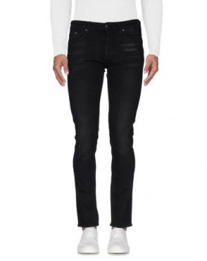 Джинсовые брюки MELTIN POT. Цвет: черный