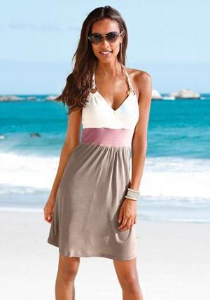 Платье для пляжа, Beachtime BEACH TIME. Цвет: тростниковый