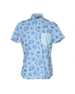 Pубашка MELTIN POT. Цвет: небесно-голубой
