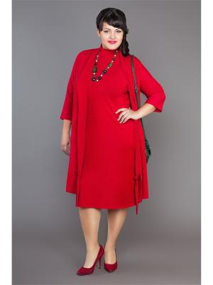Жилет Lady Sharm Classic. Цвет: красный