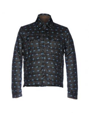Куртка F**K PROJECT. Цвет: стальной серый