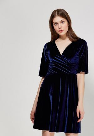 Платье Echo. Цвет: синий