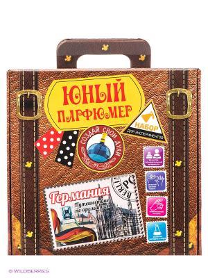 Юный парфюмер Путешествие по ароматам: Германия SPL-Technik. Цвет: коричневый
