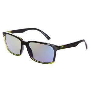 Очки  Pinch Mindglow Lime/Quasar Gloss Von Zipper. Цвет: черный,зеленый