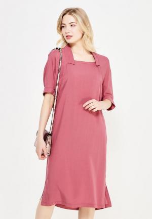 Платье Firkant. Цвет: розовый