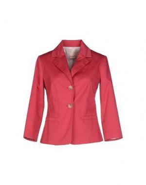 Пиджак KARTIKA. Цвет: коралловый