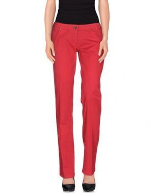Повседневные брюки HEAVEN TWO. Цвет: пурпурный