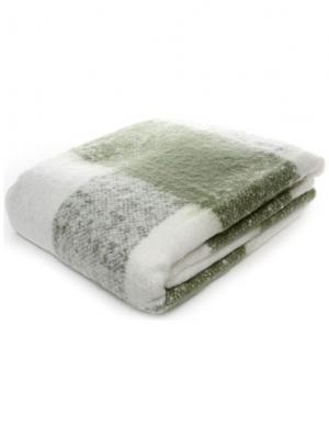 Плед 130*170 см singapur hf1203 green/w Cite Marilou. Цвет: белый, зеленый