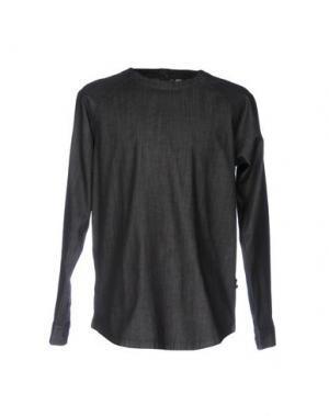 Джинсовая рубашка PUBLISH. Цвет: стальной серый