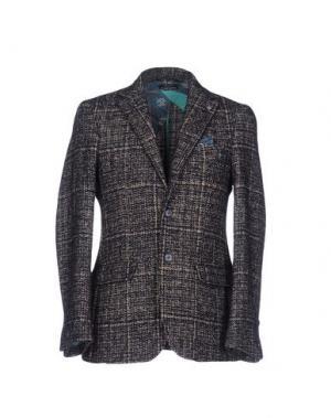 Пиджак DIMATTIA. Цвет: темно-синий