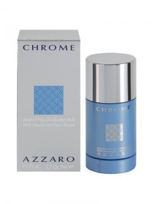 Дезодорант-стик Azzaro Chrome 75мл. Цвет: белый