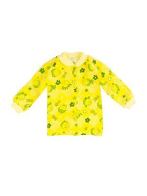 Кофточка КиСса. Цвет: желтый, зеленый