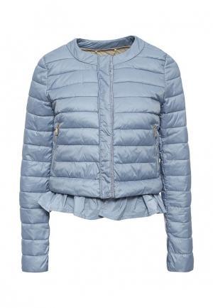 Куртка утепленная Motivi. Цвет: голубой