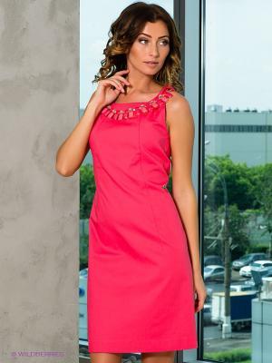 Платье Coccapani. Цвет: розовый