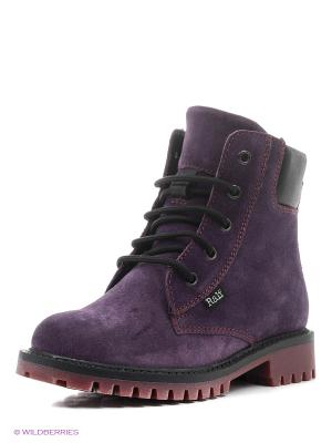 Ботинки Ralf Ringer. Цвет: фиолетовый