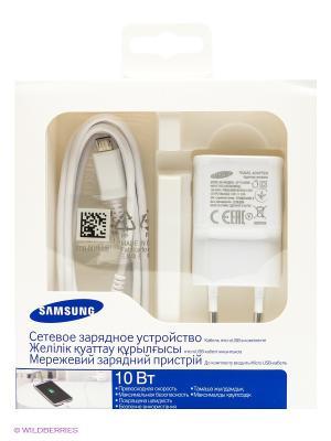 Зарядное устройство Samsung. Цвет: белый