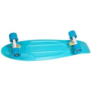 Скейт мини круизер  Nickel 27 Lagoon 7.5 x (69 см) Penny. Цвет: голубой