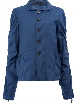 Драпированная легкая куртка Maison Margiela. Цвет: синий