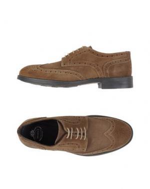 Обувь на шнурках BRAWN'S. Цвет: хаки