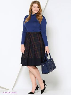 Блузка VISERDI. Цвет: синий
