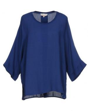 Блузка LA FEE MARABOUTEE. Цвет: синий