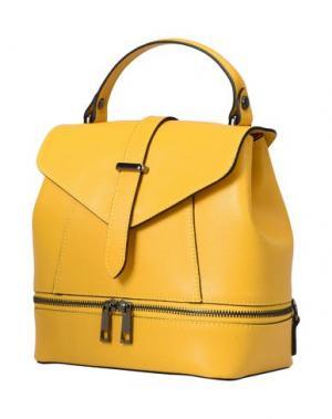 Рюкзаки и сумки на пояс PARENTESI. Цвет: желтый