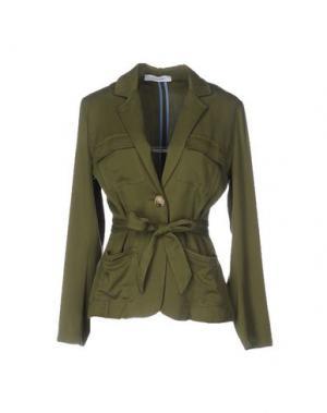 Пиджак ALFONSO RAY. Цвет: зеленый-милитари