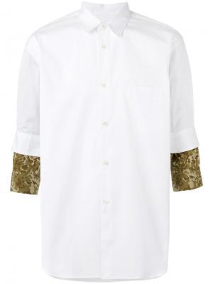 Camouflage detail shirt Comme Des Garçons. Цвет: белый