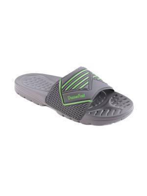 Шлепанцы Dream Feet. Цвет: серый