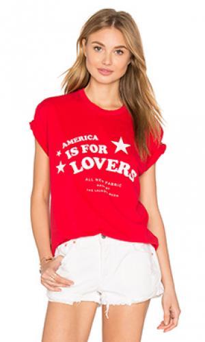 Майка star lovers The Laundry Room. Цвет: красный