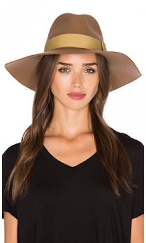 Шляпа piper Brixton. Цвет: цвет загара