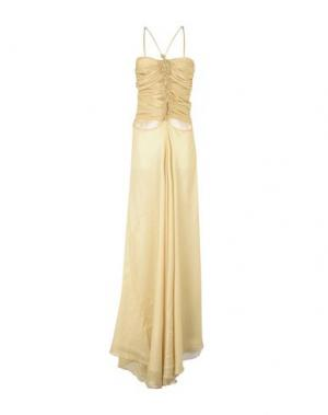 Длинное платье SHI 4. Цвет: песочный