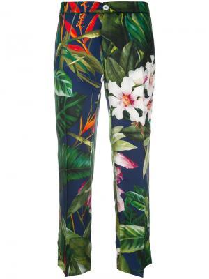 Пижамные брюки Ceo F.R.S For Restless Sleepers. Цвет: многоцветный