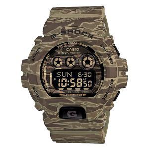 Часы  Gd-x6900tc-5e Military Casio G-Shock. Цвет: зеленый,бежевый