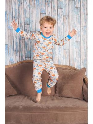Пижама UMKA. Цвет: голубой