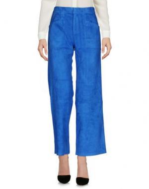 Повседневные брюки STOULS. Цвет: синий
