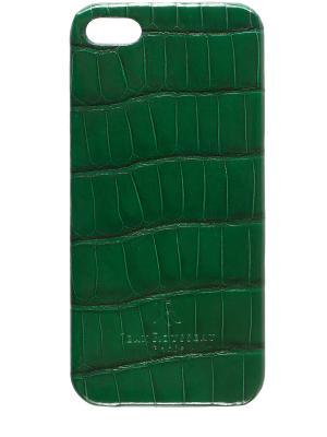 Чехол для IPhone 5 Jean Rousseau. Цвет: зеленый