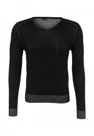 Пуловер New Brams. Цвет: черный