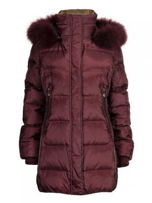 Куртка HAGENSON. Цвет: бордовый