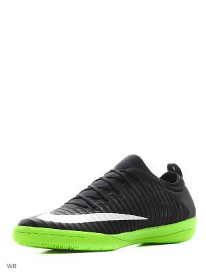 Бутсы для зала MERCURIALX FINALE II IC Nike. Цвет: черный