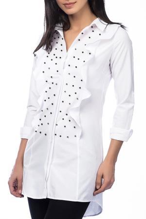 Рубашка Dewberry. Цвет: белый