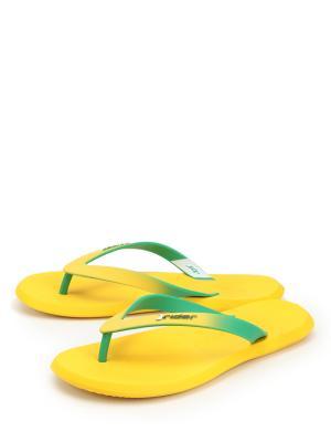 Сабо RIDER. Цвет: желтый