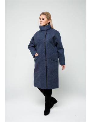 Пальто KR. Цвет: индиго