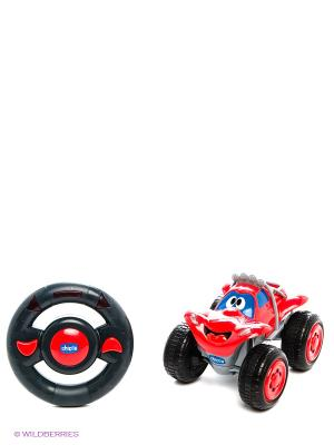 Игрушка машинка Билли большие колеса CHICCO. Цвет: красный, черный